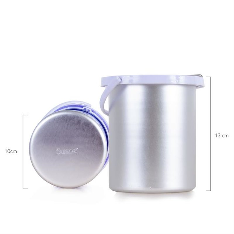 Waxing heater for 800 ml Containers
