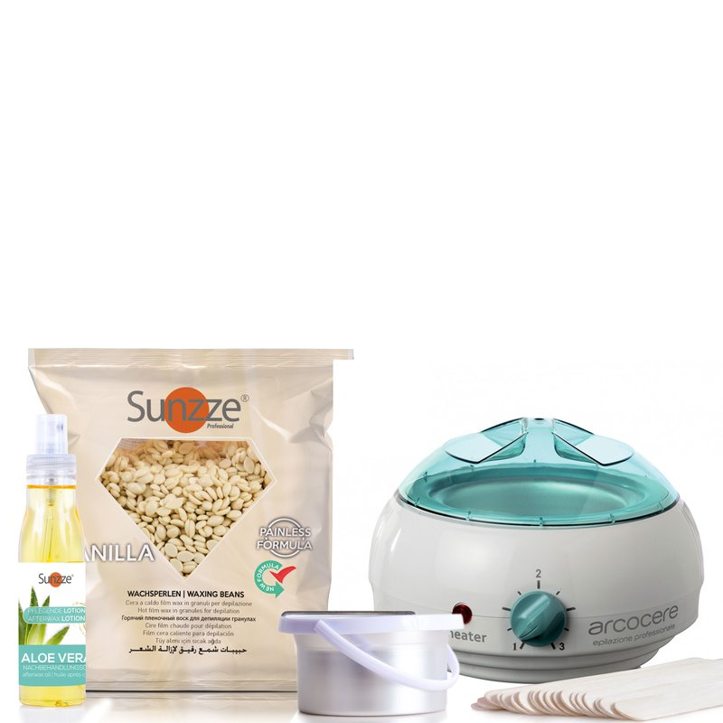 WAX SET with heater & waxpearls 1kg