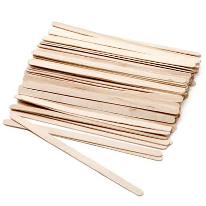 wooden spatulas for depilationwax 100pcs